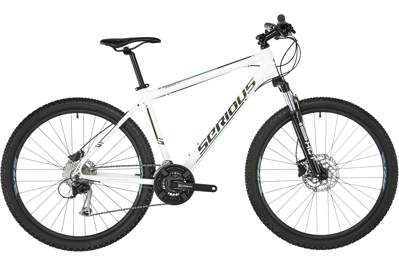 Serious Eight Ball MTB Hardtail 27,5 Disc hvid | Find cykeltilbehør på nettet | Bikester.dk